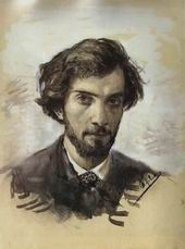 levitan self portrait